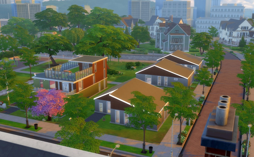 The Bridgeview neighbourhood in the northern part of Newcrest.