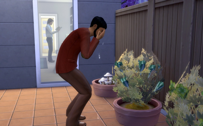 Watering Plants with Tears