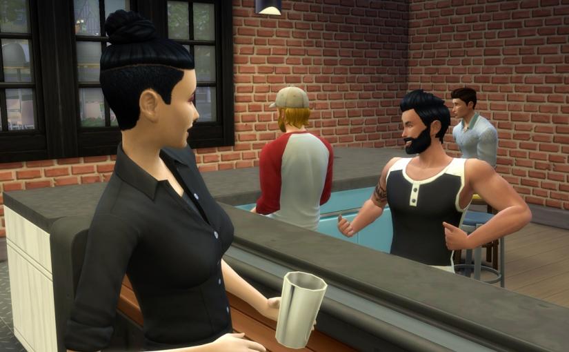 Flirting with theBartender